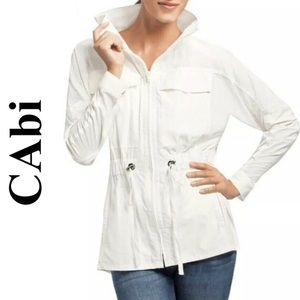 CAbi White Fairway Jacket